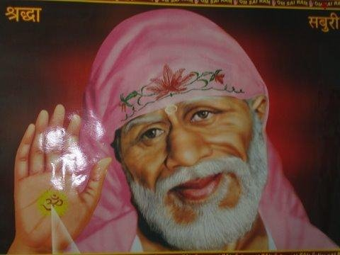 Sai Baba is guiding me.
