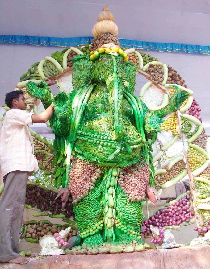 Greeny Veggy Ganesha